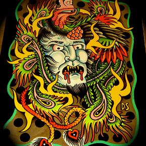 Vice Tattoo Age - Part 3 : portrait of Dan Santoro
