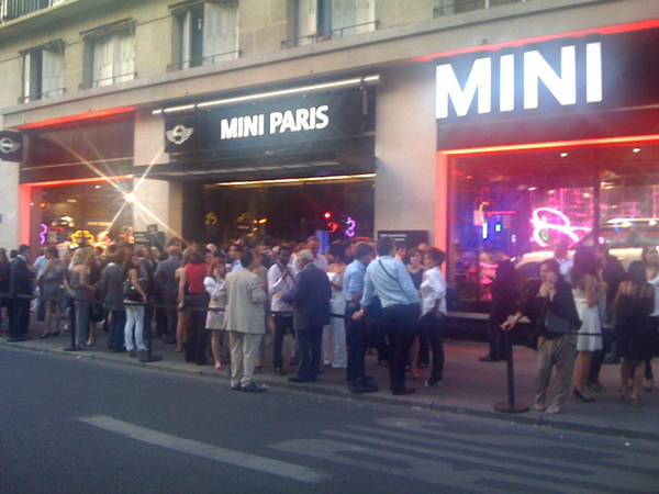 MINI Paris The Brand Store