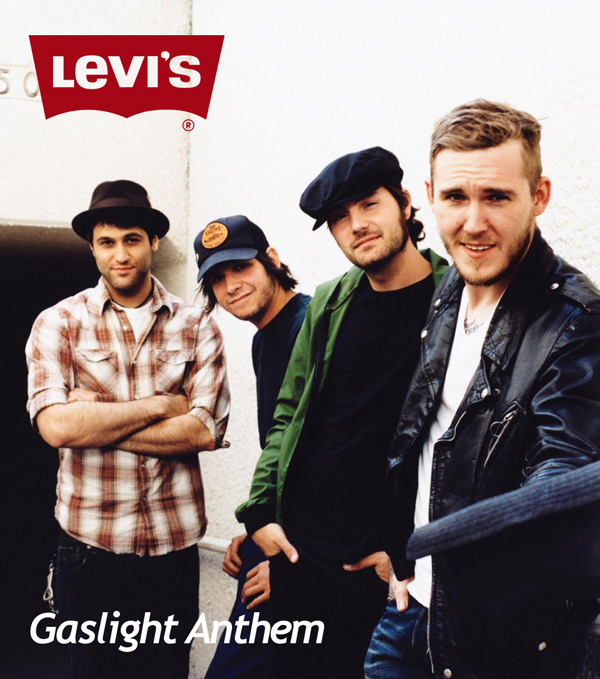 Levi's 519 x The Gaslight Anthem
