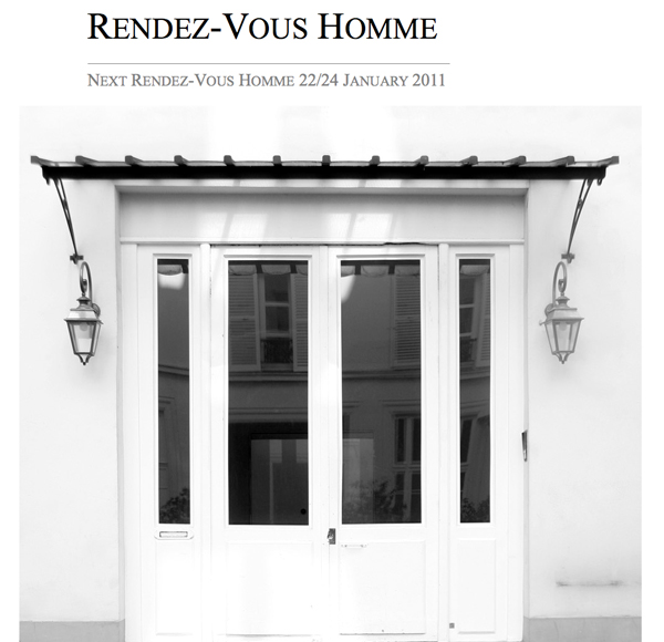 Rendez-Vous Homme Paris