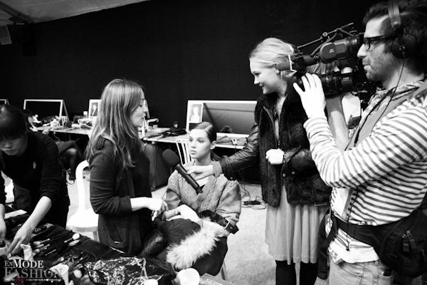 Barbara Bui automne hiver 2011 2012 - les backstages