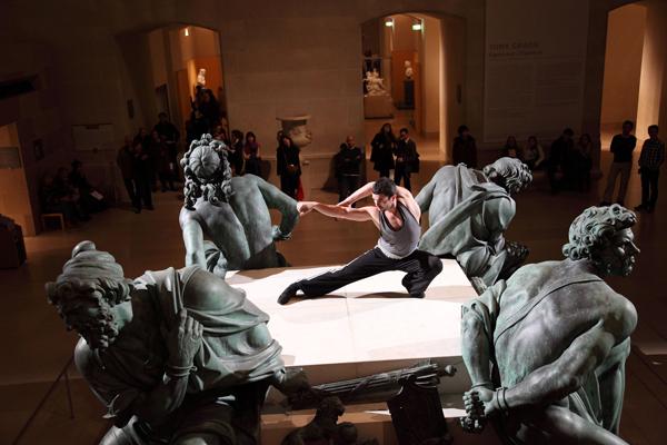 Exposition Combat au Musée du Louvre