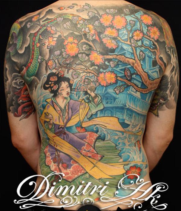 Dimitri tatouage