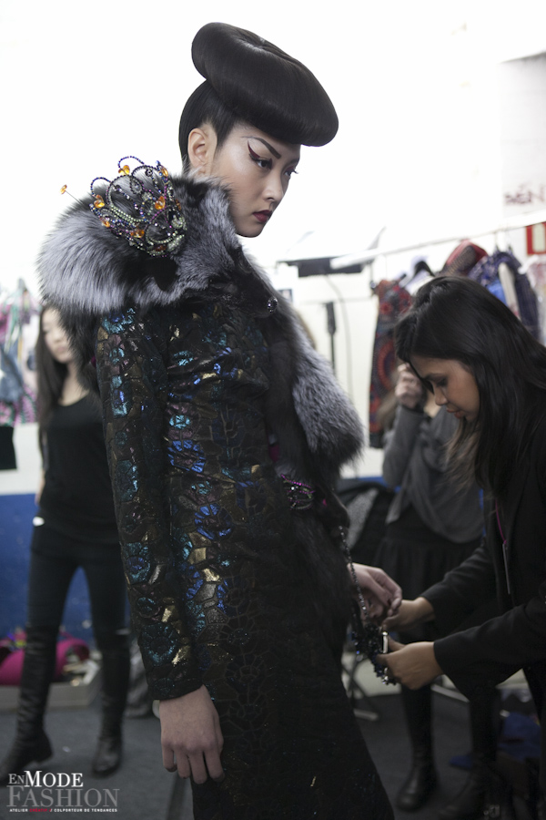 Manish Arora backstages
