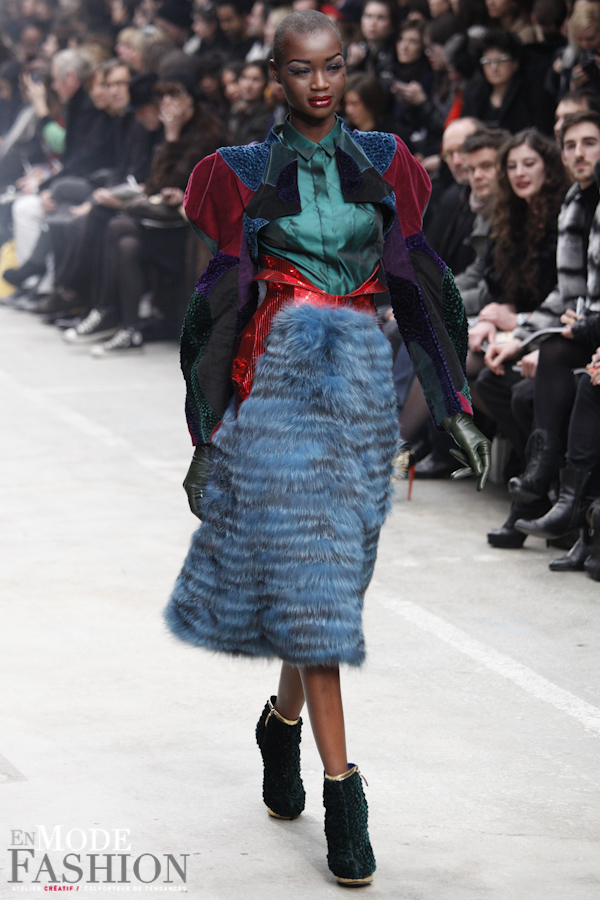 Manish Arora automne hiver 2011 2012 - Fashion Week Paris