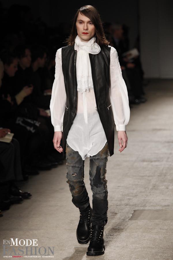 Nicolas Andréas Taralis automne hiver 2011 2012 - Fashion Week Paris