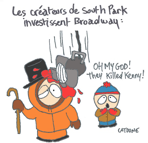 South Park à Broadway