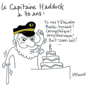 capitaine haddock 70 ans-pave