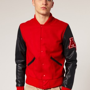 American College - Veste baseball ton sur ton
