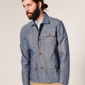 Edwin - Morris - Veste en jean style workwear