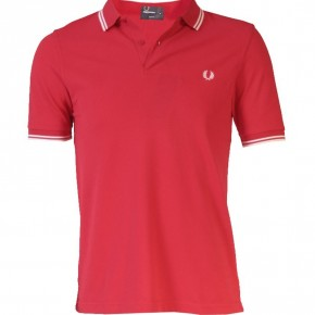 Fred Perry - Polo Slimfit rouge