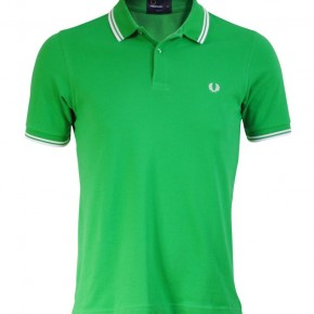 Fred Perry - Polo Slimfit vert