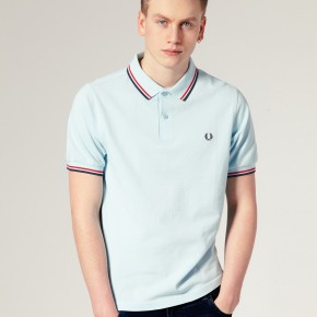 Fred Perry - Polo ajusté à double rayure