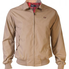 Fred Perry - Veste Harrington Jacket Made in England