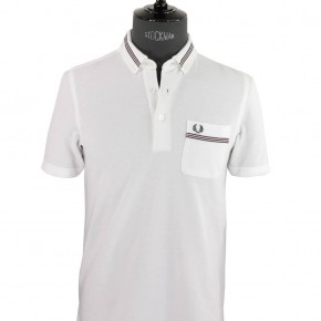 Fred Perry - Polo blanc