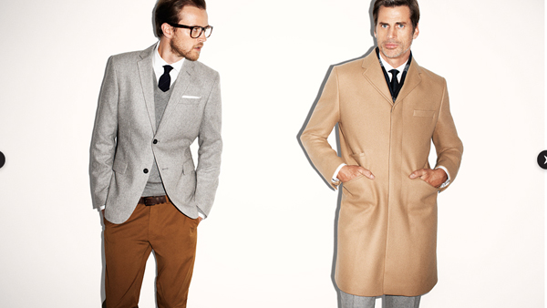 H&M Homme collection hiver 2011