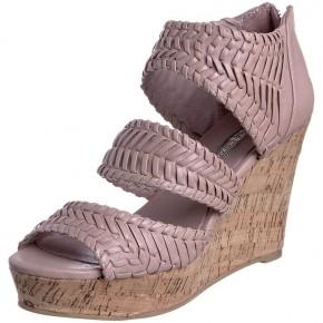 Buffalo sandales à talons rose