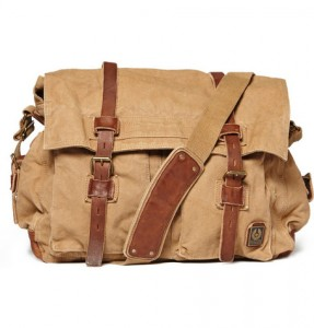 Belstaff Canvas Messenger Bag