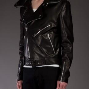 JUUN.J blouson en cuir noir Perfecto