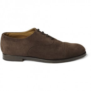 Jimmy Choo Draycott Suede Oxford Shoes
