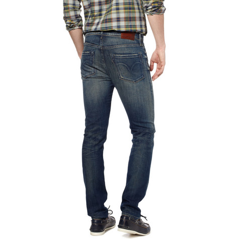 Levi 39 s made crafted skinny washed jeans for Levi s made and crafted