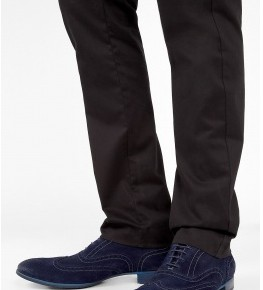 Paul Smith Shoes Navy Dip Dyed Suede Miller Brogues-1