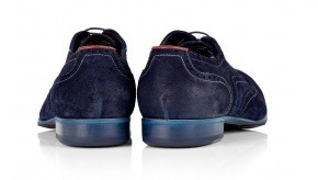 Paul Smith Shoes Navy Dip Dyed Suede Miller Brogues-4