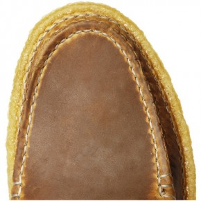Quoddy Leather Shoes with Ring Closure-5