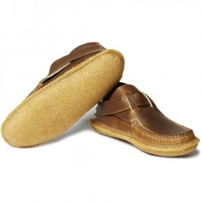 Quoddy Leather Shoes with Ring Closure-6