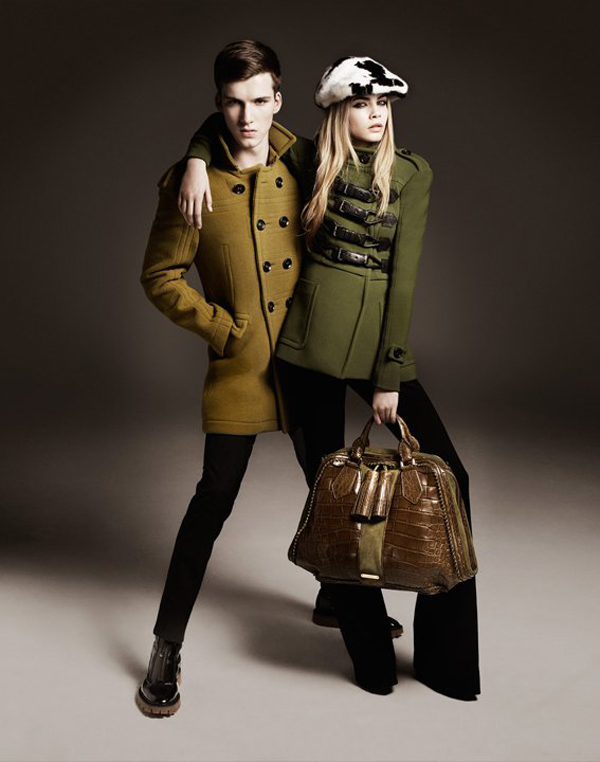 Burburry collection automne hiver 2011 2012