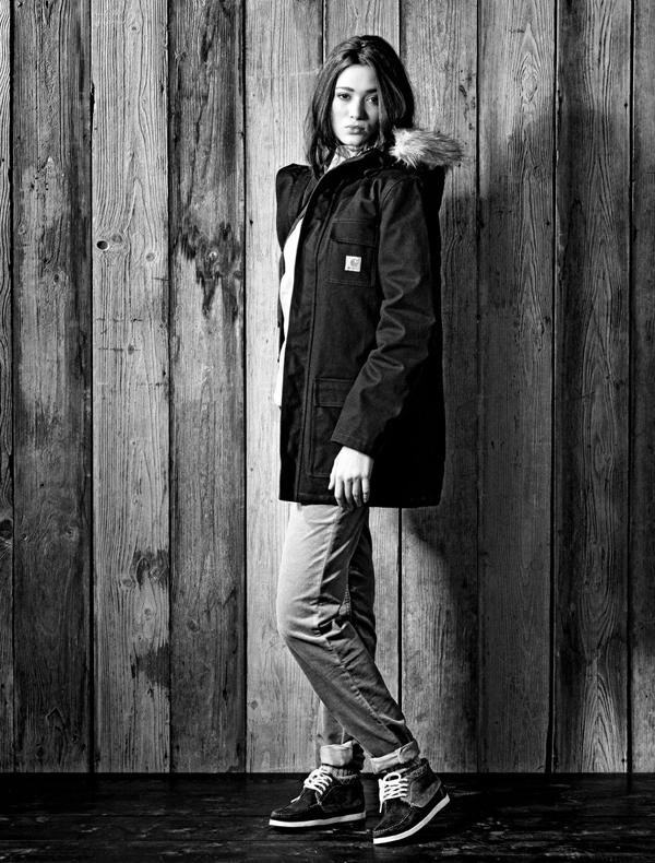 Carhartt lookbook femme hiver 2011