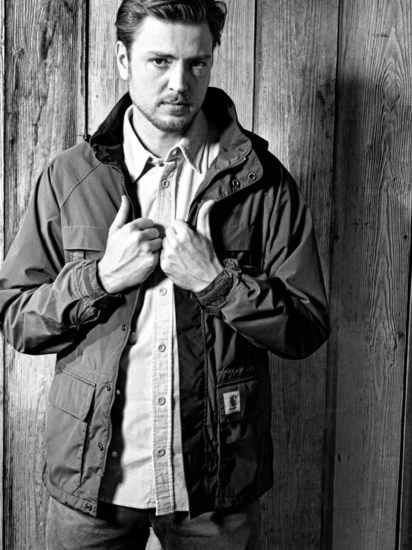 Carhartt lookbook homme hiver 2011