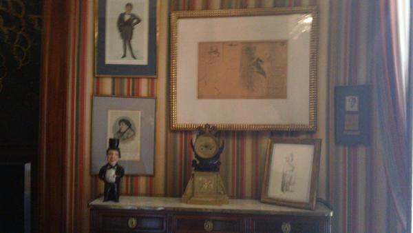 L'Hôtel Paris - chambre Oscar Wilde