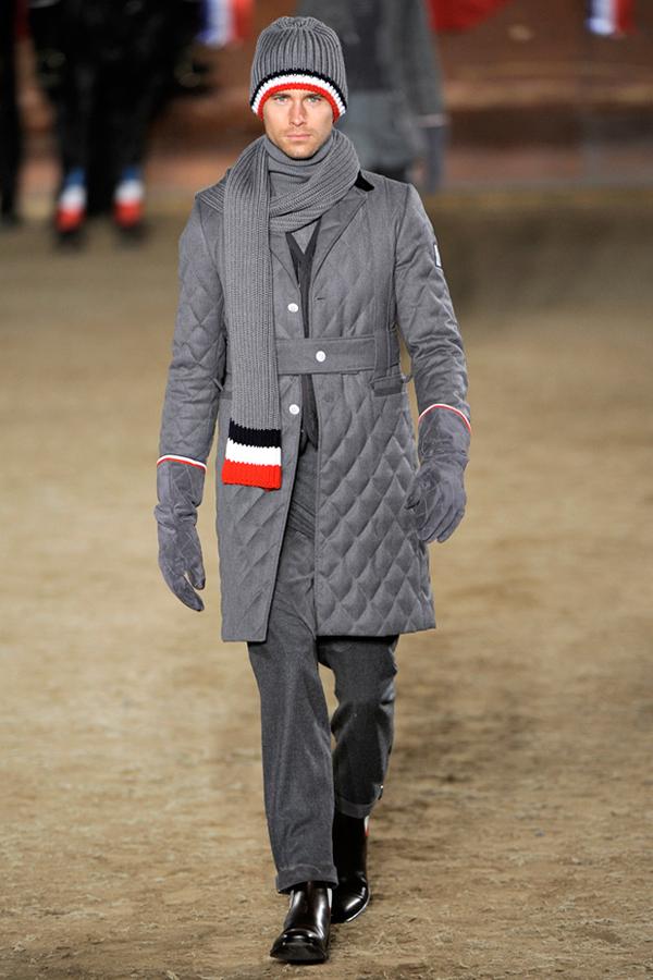 Moncler gamme bleu collection hiver 2011
