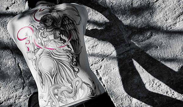 Sanhugi tatouage