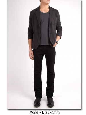 Acne Black Slim