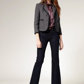 Boutique By Jaeger - Blazer d'écolier court