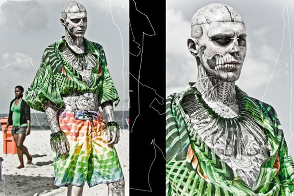 Zombie Boy FFW Fashion Forward