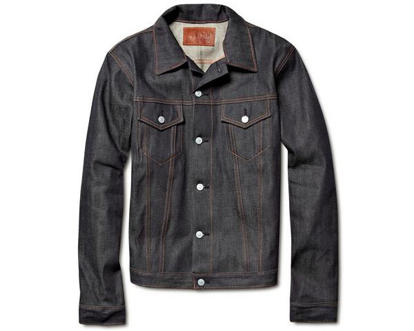 Jean Shop - veste en denim brut