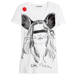 Simeon Farrar for JapanKate Mouse cotton T-shirt