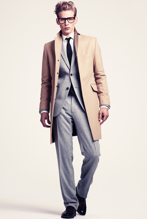H&M hiver 2012 - mode homme