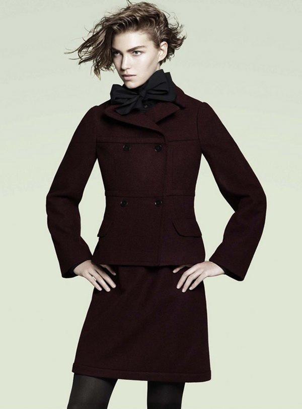 Uniqlo +J collection femme automne hiver 2011 2012