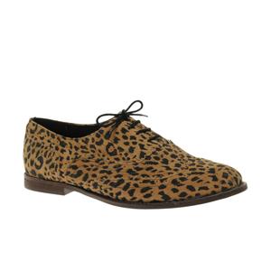 ASOS-MARKY-Chaussures-plates-en-daim-à-lacets