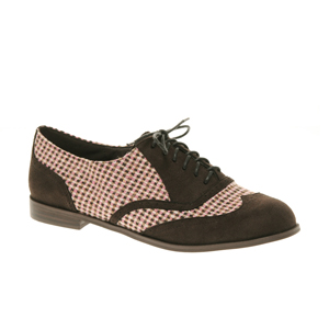 ASOS - MISTER - Chaussures richelieu lacées en tweed