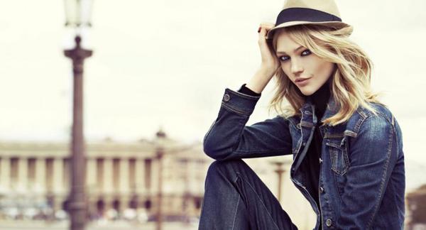 RESERVED feat. Sasha Pivovarova fall winter 2012