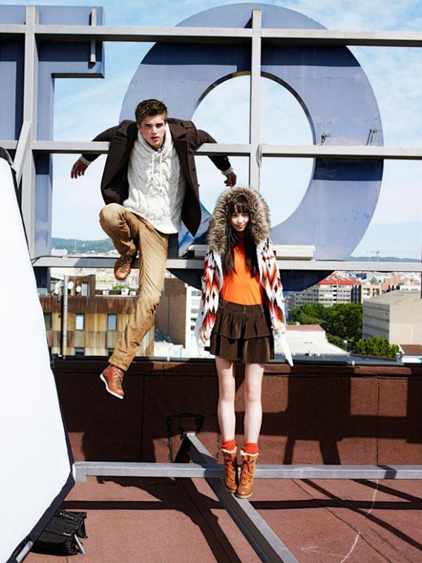 Bershka inaugure sa boutique en ligne pour l 39 hiver 2011 for Negozi bershka roma