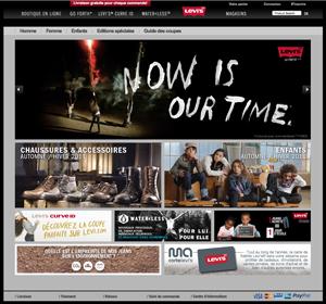 boutique en ligne levis