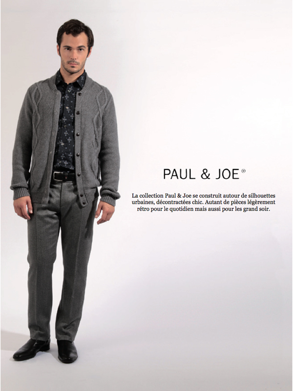 Paul & Joe chez Menlook