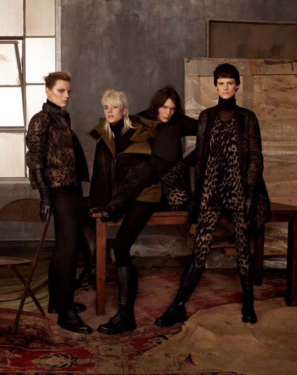 Moncler Gamme Rouge campagne hiver 2011