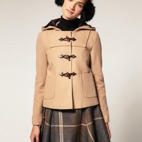Blouson duffle coat court femme